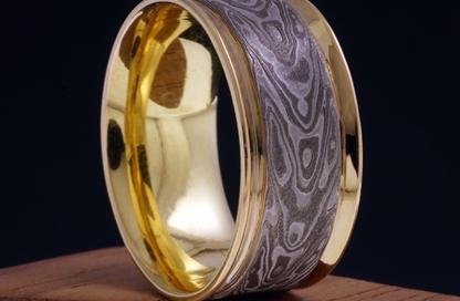 anello mokume gane