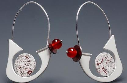 orecchini argento caravelle